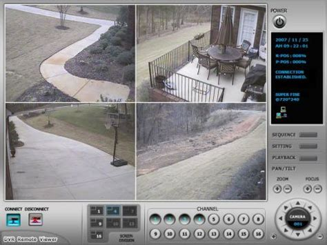 house camera home surveillance system with remote viewing