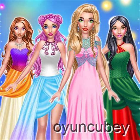 sihirli masal prensesi oyunu bedava giysi giydirme