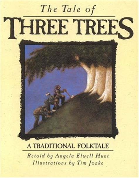 genre reviews the tale of three trees by angela elwell hunt