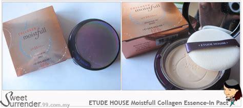 Hub Etude House Collagen Moistfull Essence In Pact Spf 25 Pa etude house moistfull collagen essence in pact spf 25 pa
