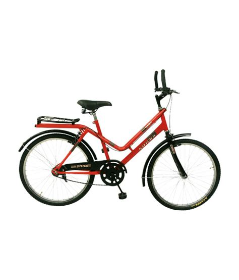 hero on a bicycle hero stitch 24t bicycle black buy online at best price on snapdeal
