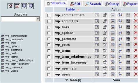 sql list tables in database database security why change the database