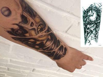 tattoo 3d di bandung tatuagens falsas colar com rel 243 gio mec 226 nico novidade