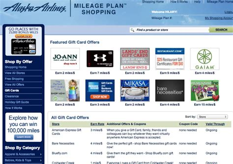 Buy Amex Gift Card - amex gift cards 3x alaska miles via alaska mileage plan shopping portal travelsort