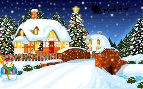 imagenes de paisajes animados paisajes de navidad animados