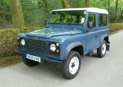 1995 defender 90 purchased by alex in derbyshire. land