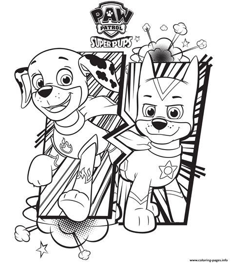 puppy patrol coloring page free paw patrol coloring pages happiness is homemade