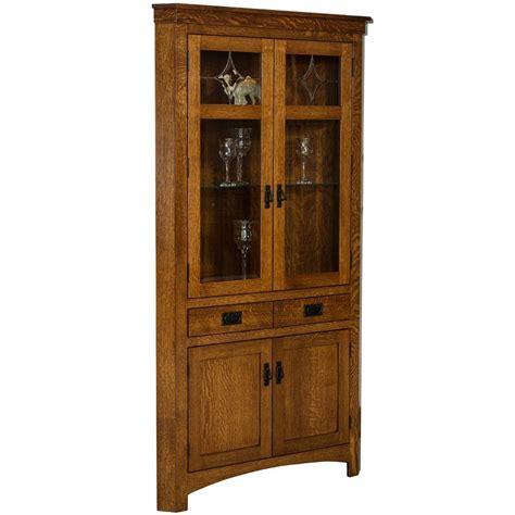 cape cod corner cabinet amish hutches and cabinets