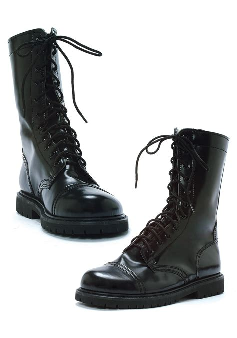 black combat boots for black combat boots costume accessory for