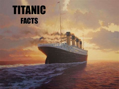 Titanic Biography Facts | top 10 amazing titanic facts