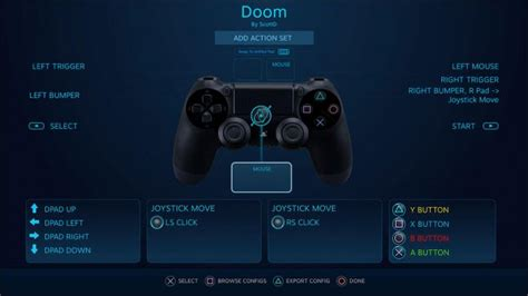 button layout for skyrim pc steam s ps4 controller support is expanding with future