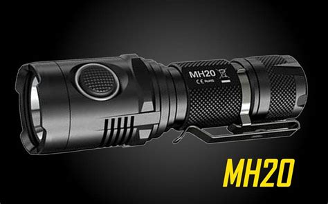 Nitecore Mh20 Flashlight 1000 Lumens nitecore mh20 1000 lumen usb rechargeable led flashlight