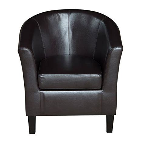 bucket armchairs homcom deluxe faux leather tub chair tubchair seat bucket