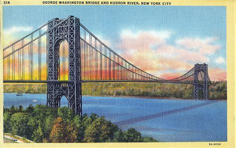 george washington bridge biography new york quot the wonder city quot george washington bridge over
