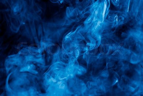 Photoshop Design Jobs From Home by Clouds Of Blue Cigarette Smoke Stock Photo Colourbox
