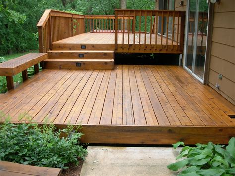 On Wood Deck decks fencing s handyman service