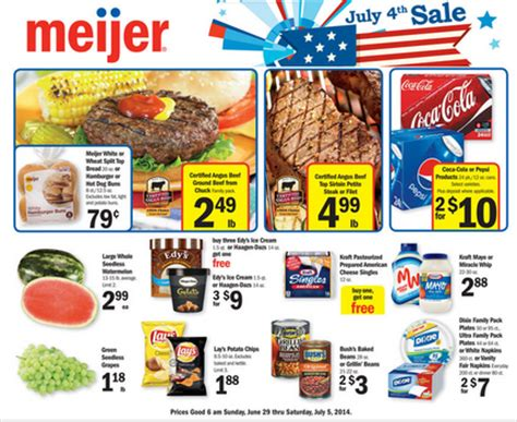 meijer weekly coupon matchups 6/29 – 7/5 (or 7/3 7/9