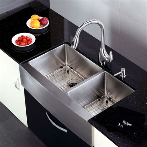 Kraus Kitchen Sinks kraus khf203 36 kitchen sink build