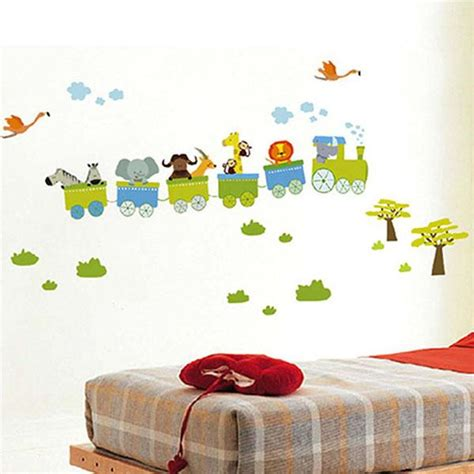 removable wall stickers for nursery aliexpress buy new removable sticker animal roller