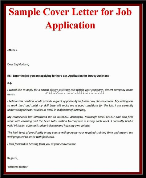 how to write a cover letter for an unadvertised how to write a cover letter for a best business template