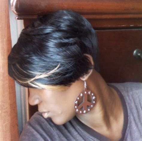 short bob style weaves shondra s quick weave hairstyles layered cut quick weave