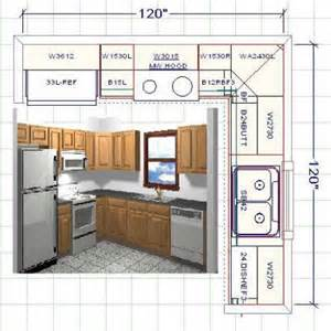 10x10 kitchen layout with island kitchen cabinet layout software