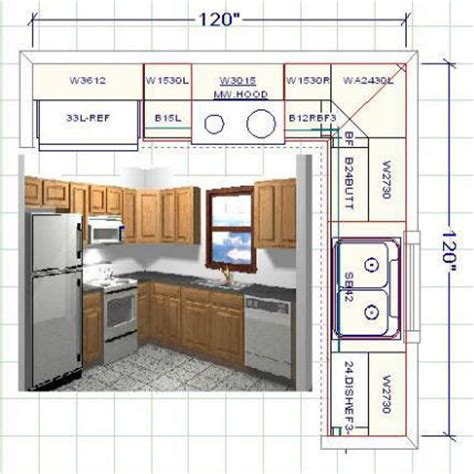 The Best Kitchen Design Software by Kitchen Cabinet Layout Software