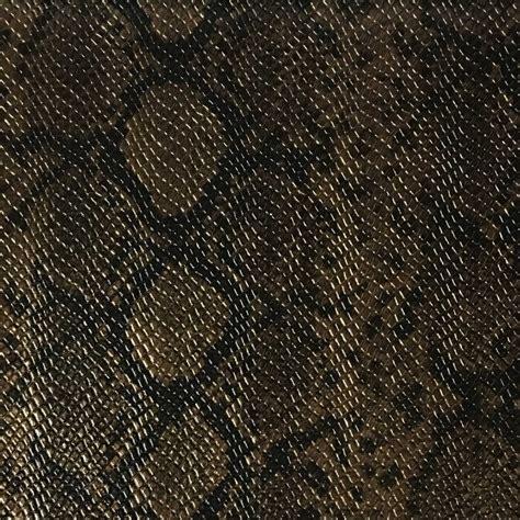 York Snake Skin Pattern Embossed Vinyl Upholstery Fabric