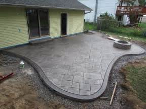 Patio Ideas Other Than Concrete Sted Concrete Patio Decorative Concrete Patio