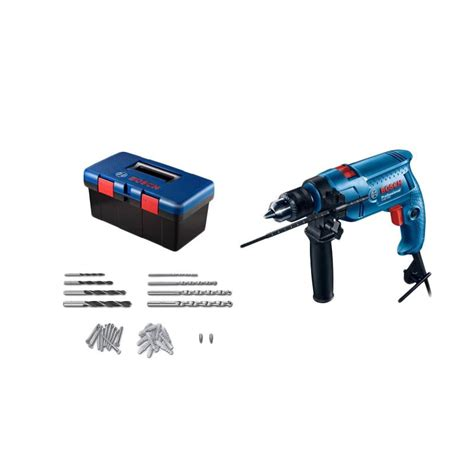 Mesin Bor Bosch Gsb 13 Re jual bosch gsb 550 freedom kit set mesin bor 550 w