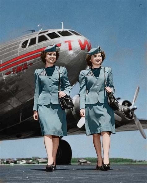 pin by cathrine nergaard on 1950s air travel flight attendant aviation airline uniforms
