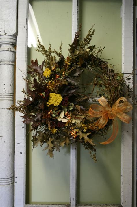 Dried Wreaths Front Door Dried Flower Wreath Floral Wreath Front Door Wreath Fall Dried Flower Wreaths