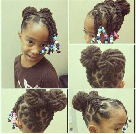 Great hairstyle for children with locs or twists   I whip