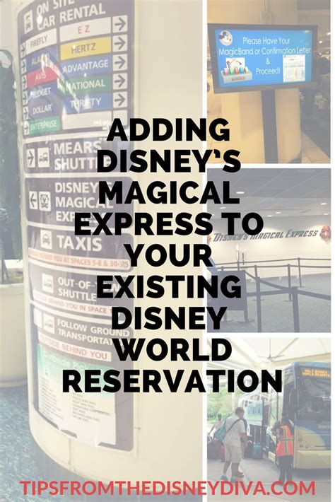 adding disney s magical express to your existing disney world reservation tips from the disney