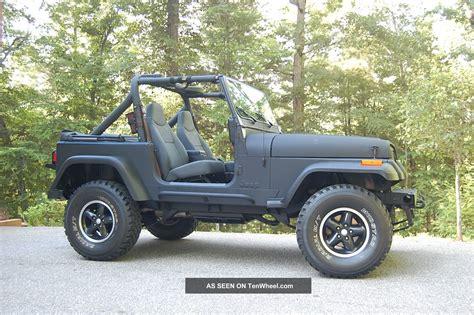 jeep islander yj 1988 jeep wrangler islander sport utility 2 door 4 2l