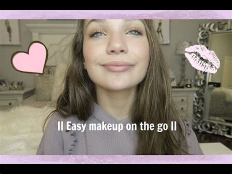 james charles makeup maddie ziegler quick and easy makeup on the go maddie ziegler youtube
