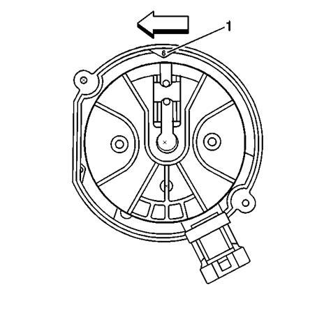 remove  camshaft sensor     vortec