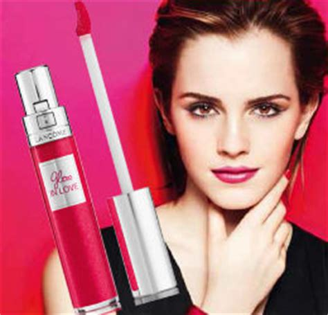 emma watson perfume lancome gloss in love review