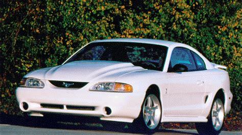 95 ford mustang specs mustang specs 1995 ford mustang