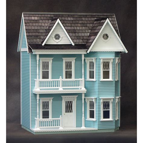 realistic doll house princess anne dollhouse kit real good toys free shipping discount doll house