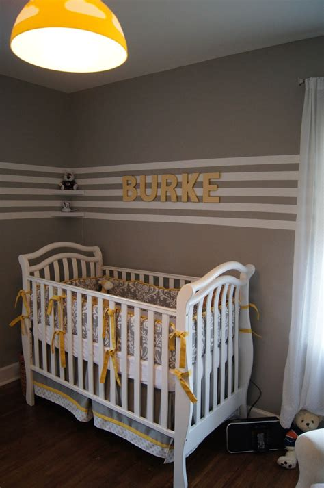 yellow and gray baby room the humble abode baby b s yellow and grey nursery reveal