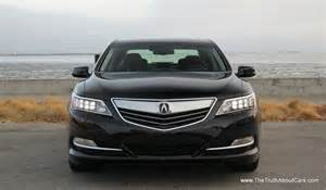Acura Rlx 2014 Review Review 2014 Acura Rlx With 24 Cars Blue Sky
