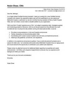 Certified Nurses Aide Cover Letter by Leading Healthcare Cover Letter Exles Resources Myperfectcoverletter