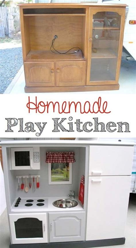 play kitchen from furniture 23 creative methods to repurpose furniture