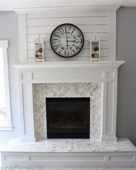 replace fireplace surround 25 best ideas about herringbone fireplace on