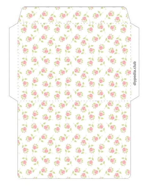 template for printing envelopes floral envelope templates for printing diypedia