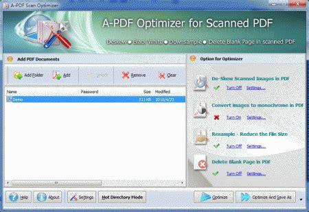 scan program comsoftware a pdf scan optimizer v2 3 0