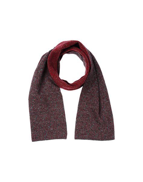 fendi oblong scarf in purple for lyst