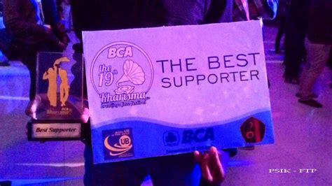 Dress Kharisma Biru kekompakan ftp berbuah best suporter kharisma brawijaya