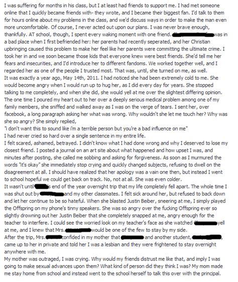 Sad Story Essay by A Bullying Essay